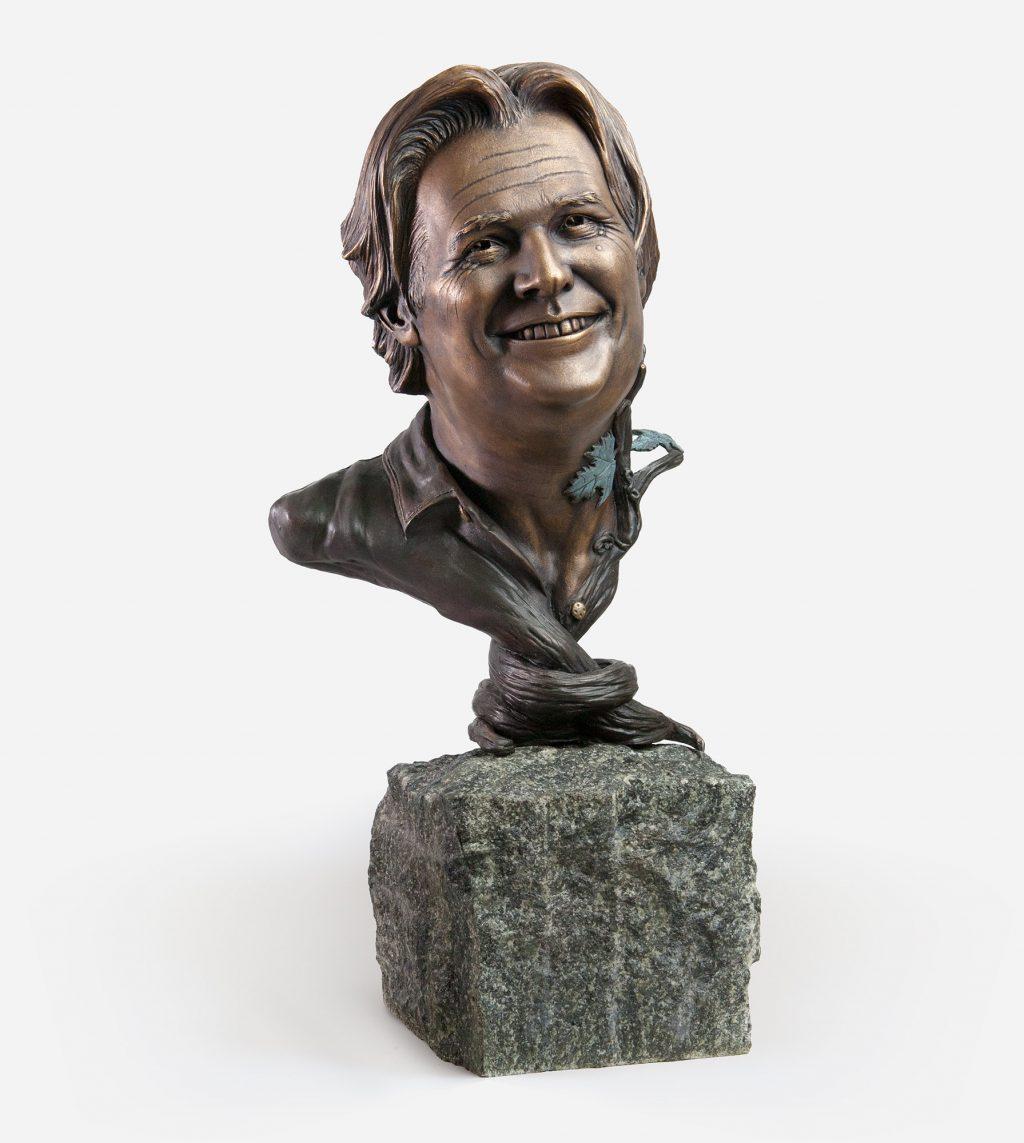 Paul Braun Portrait Bronze